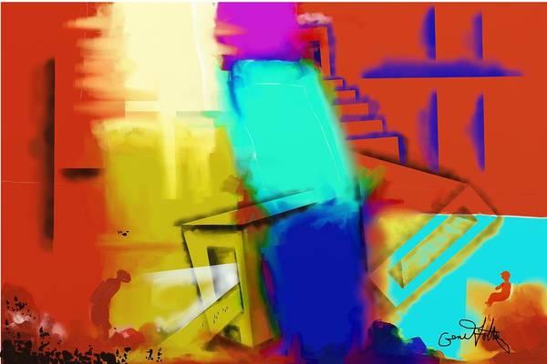 Painting - Deep Colors by Eugene Foltuz