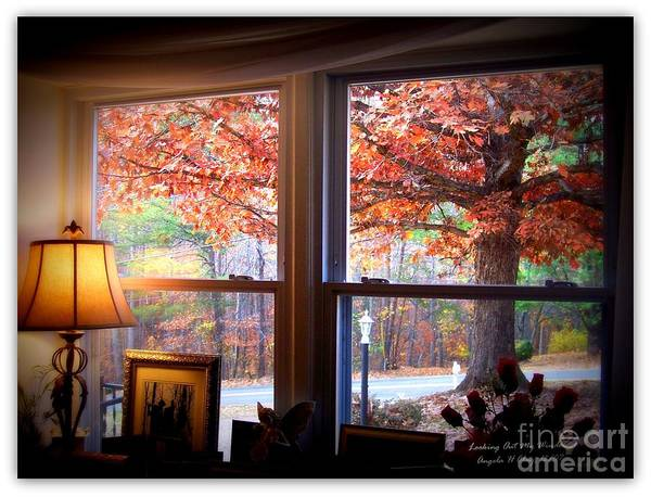 Thanksgiving Dinner Digital Art - Deep Fall Colors by Angelia Hodges Clay