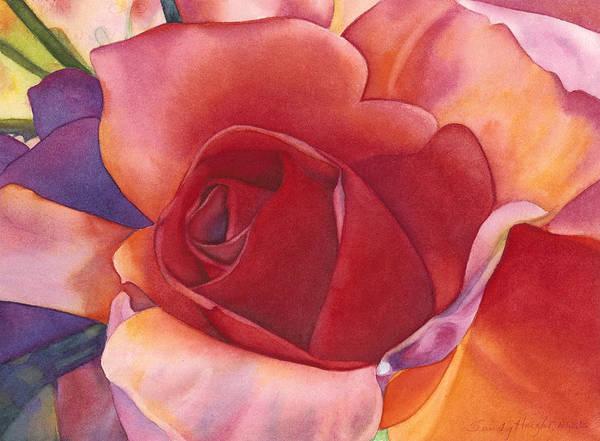 Wall Art - Painting - Deep Heart by Sandy Haight