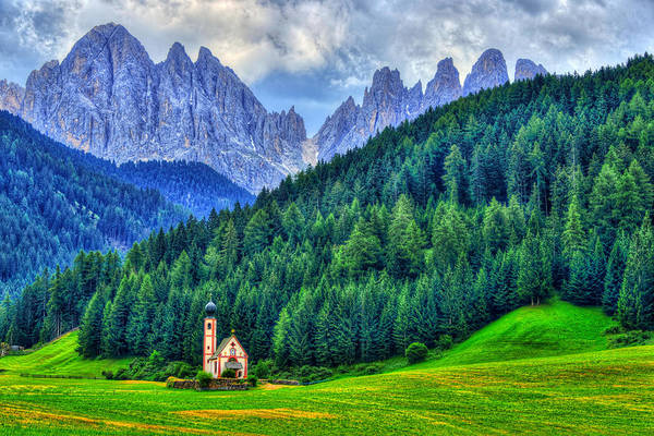 Dolomites Photograph - Deep In The Mountains by Midori Chan