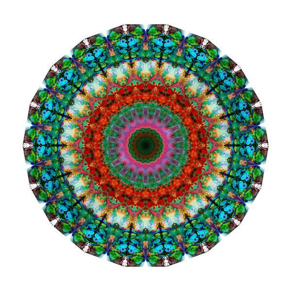 Wall Art - Painting - Deep Love - Mandala Art By Sharon Cummings by Sharon Cummings