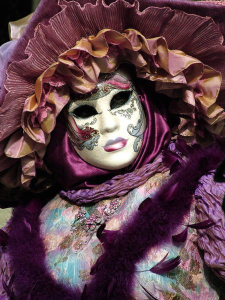 Photograph - Deep Purple Boa by Donna Corless