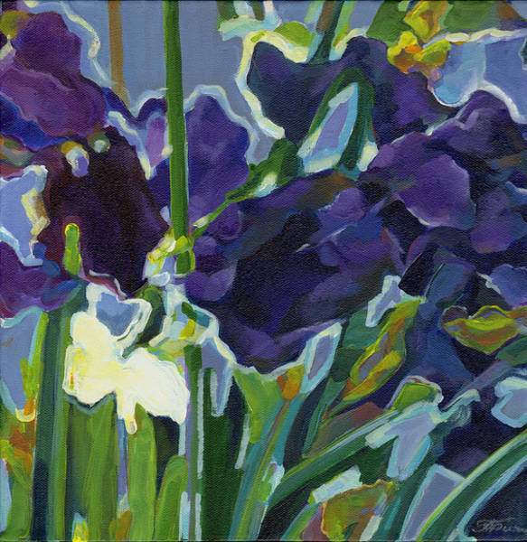 Painting - Deep Purple by Tanya Filichkin