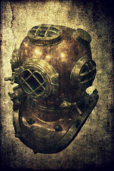 Gas Photograph - Deep Sea Diving Helmet by Daniel Hagerman
