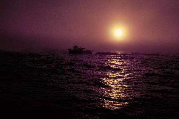 Deep Sea Fishing Off West Port Wa II Art Print