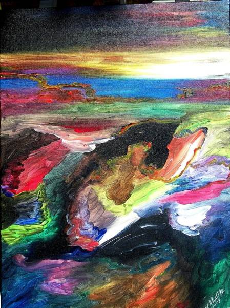 Painting - Deep Search by Ray Khalife