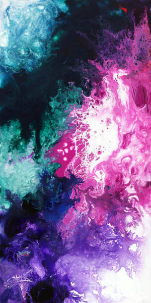 Painting - Deep Space Canvas Three by Sally Trace