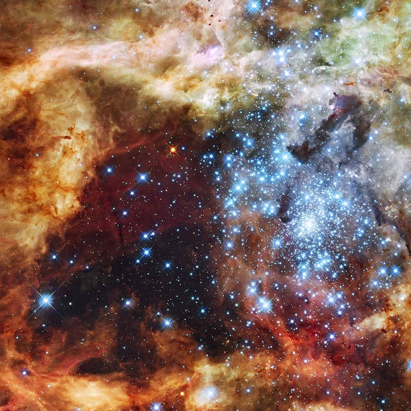 Wall Art - Photograph - Deep Space Fire And Ice  by Jennifer Rondinelli Reilly - Fine Art Photography