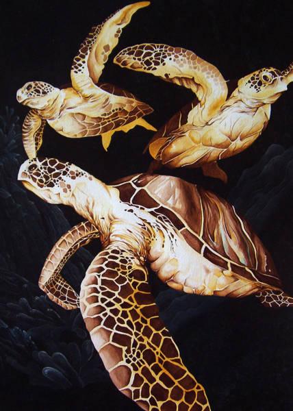 Deep Swim Art Print
