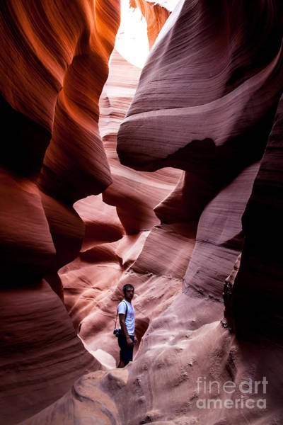Photograph - Deep Within Antelope by Jim McCain