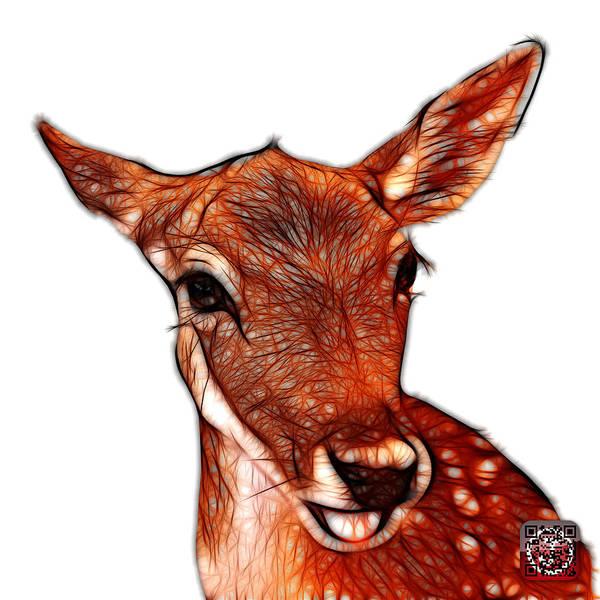 Digital Art - Deer - 0401 Fs by James Ahn