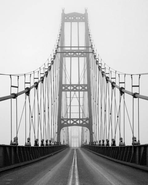 Stonington Photograph - Deer Isle Bridge by Patrick Downey
