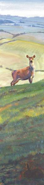 Painting - Deer by Mike Jory
