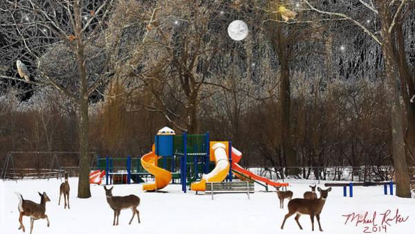 Wall Art - Photograph - Deer Park by Michael Rucker
