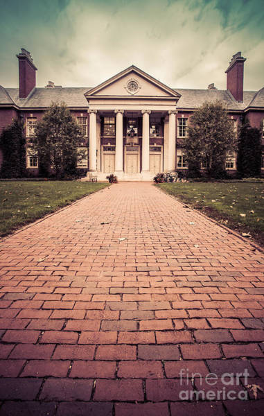 College Photograph - Deerfield Academy by Edward Fielding