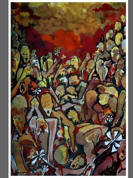 Kannan Painting - Defeated Lovers by Sooraj Kannan
