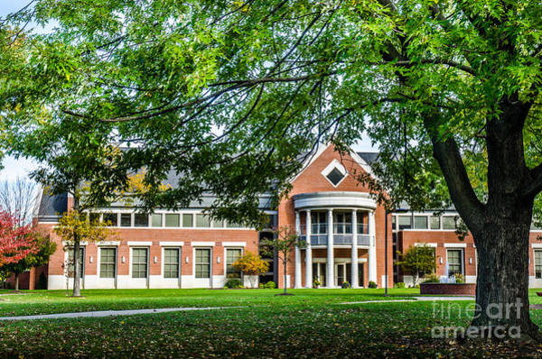 Photograph - Defiance College 1 by Michael Arend