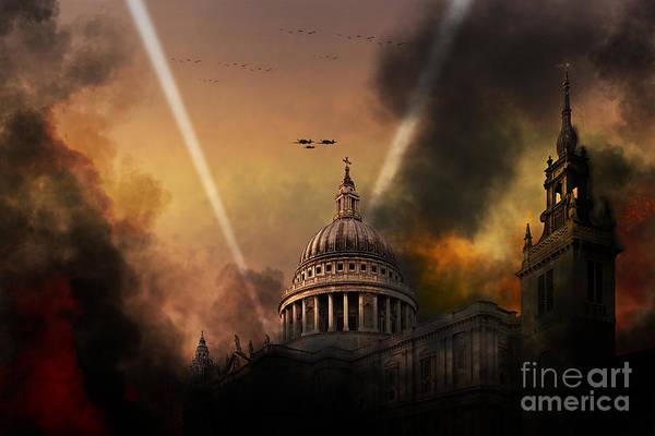 Blitz Digital Art - Defiance by J Biggadike