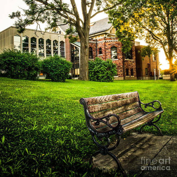 Photograph - Defiance Public Library 3 by Michael Arend