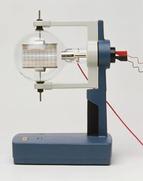 Physics Photograph - Deflecting Electrons by Dorling Kindersley/uig