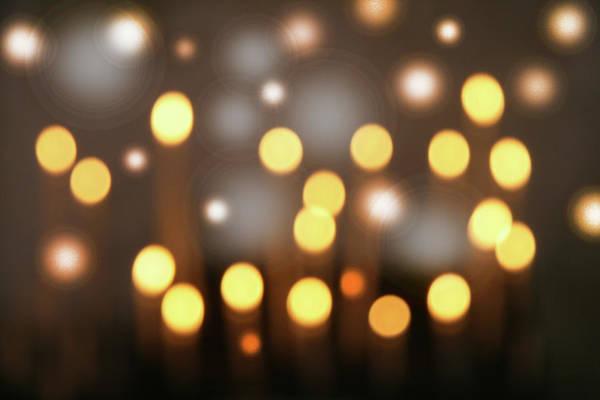 Lens Digital Art - Defocused Lights by Gary Waters
