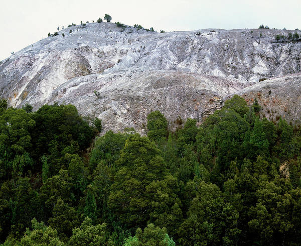 Mining Photograph - Deforestation Of Rainforest From Mining by Simon Fraser/science Photo Library