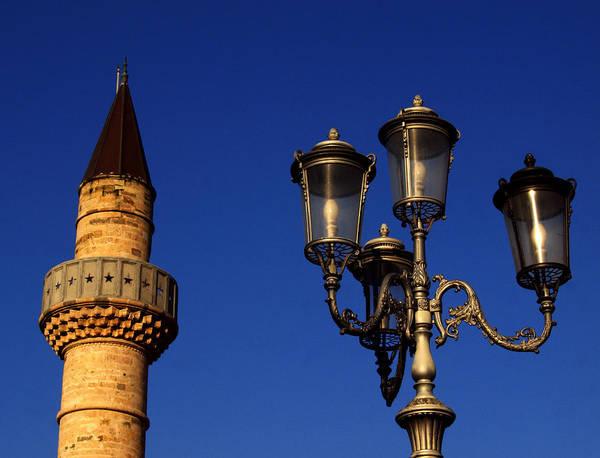 Ortodox Wall Art - Photograph - Defterdar Mosque Minaret by Dusan Srbljin
