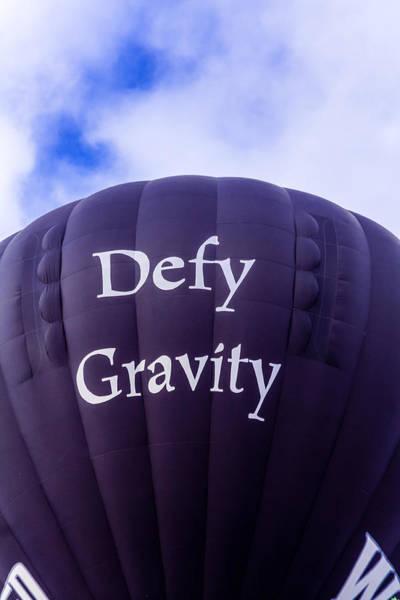 Photograph - Defy Gravity 2 by Teri Virbickis