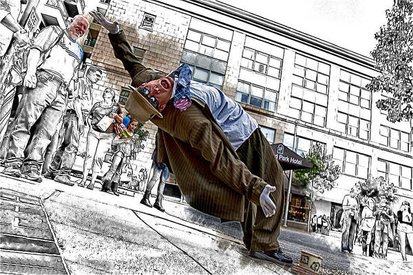 Asheville Mixed Media - Defying Gravity by John Haldane