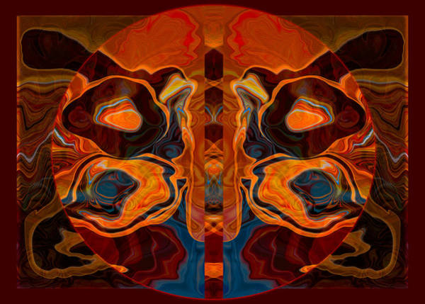 Painting - Deities Abstract Digital Artwork by Omaste Witkowski