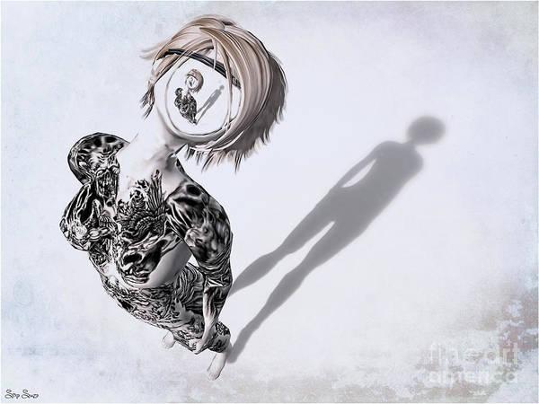 Deja Vu Digital Art - Deja Vu by Sina Souza