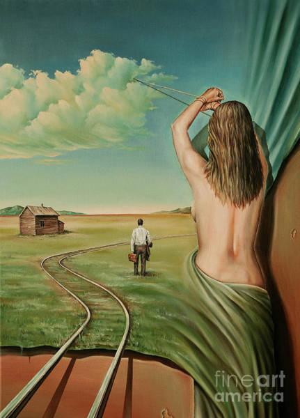 Magic Realism Painting - Deja Vu by Svetoslav Stoyanov