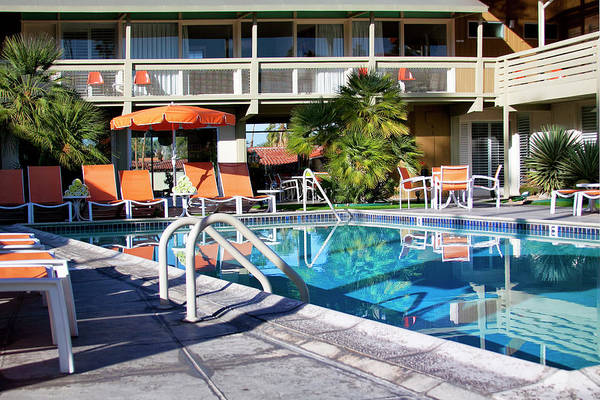 Wall Art - Photograph - Del Marcos Pool Palm Springs by William Dey