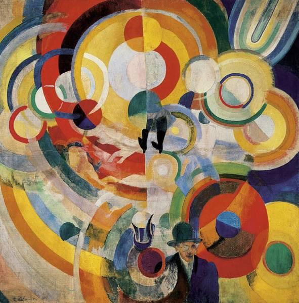Wall Art - Photograph - Delaunay, Robert 1885-1941. Carousel by Everett