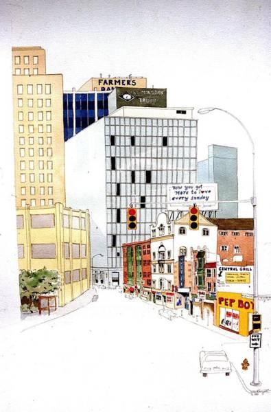 Delaware Avenue Art Print