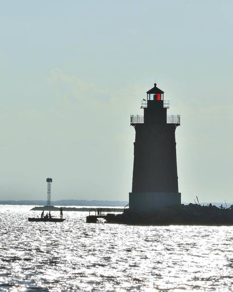 Photograph - Delaware Breakwater East End Lighthouse by Kim Bemis