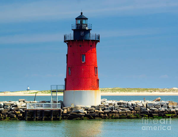 Photograph - Delaware Breakwater Lighthouse by Nick Zelinsky