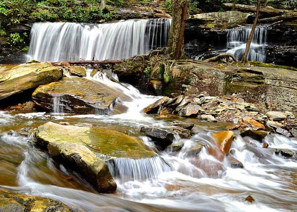 Delaware Park Wall Art - Photograph - Delaware Falls by Frozen in Time Fine Art Photography