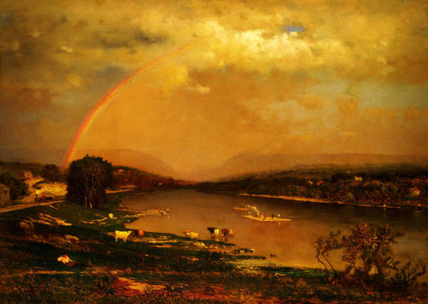 Painting - Delaware Water Gap by Celestial Images