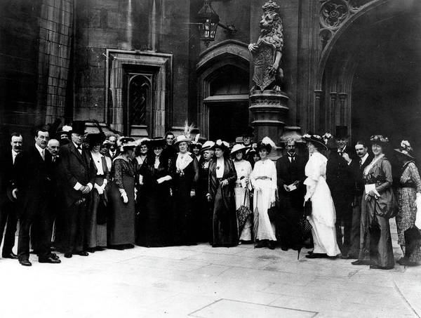 Delegation Photograph - Delegation Of The  International by Mary Evans Picture Library