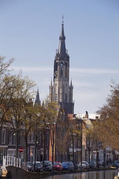 Photograph - Delft  Nieuwe Kerk New Church by Maria Heyens