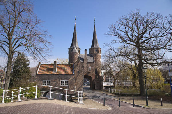 Photograph - Delft Ostpoort by Maria Heyens