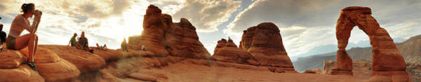 Natural Arch Photograph - Delicate Arch, Arches National by Chad Ehlers