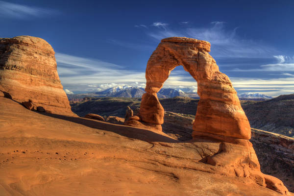 Photograph - Delicate Arch In Arches National Park Utah by Pierre Leclerc Photography