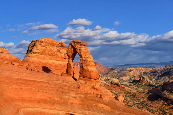 Photograph - Delicate Arch Landscape by Greg Norrell