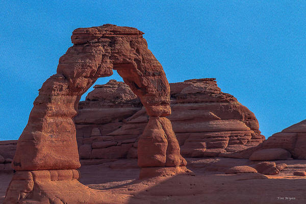 Wall Art - Photograph - Delicate Arch by Tim Bryan