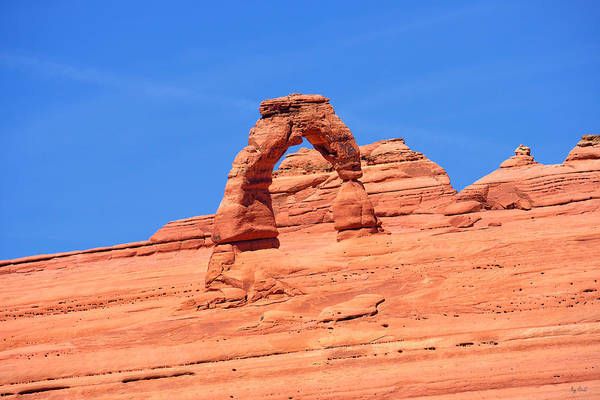 Photograph - Delicate Arch Upper Viewpoint by Greg Norrell