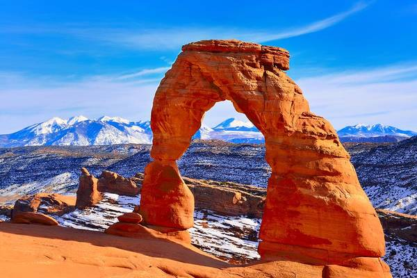 Photograph - Delicate Arch by Walt Sterneman