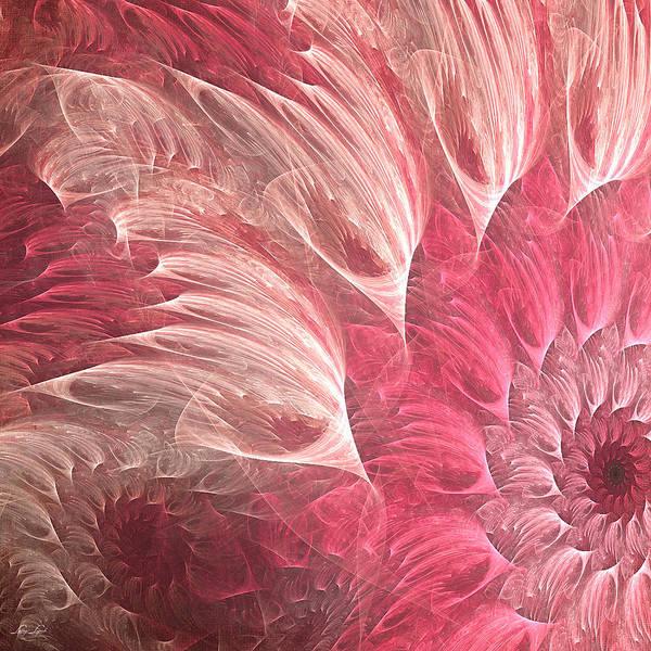 Modern Digital Art - Delicately by Lourry Legarde