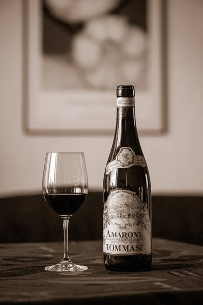 Photograph - Delicious Amarone by Ari Salmela